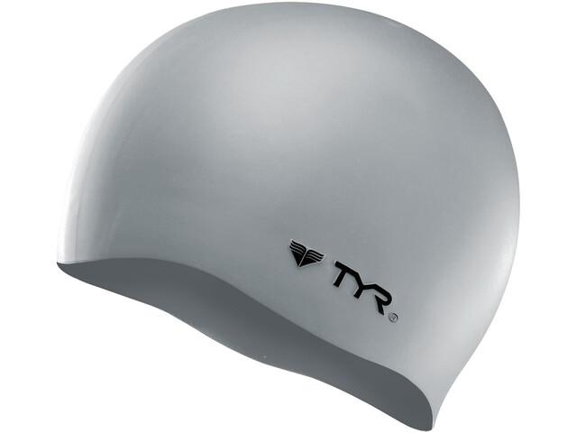 TYR Silicone Czapka No Wrinkle, silver